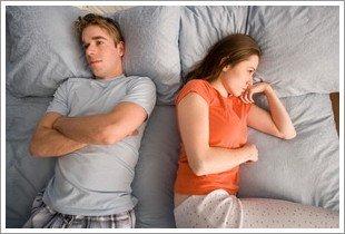 ansia da prestazione a letto